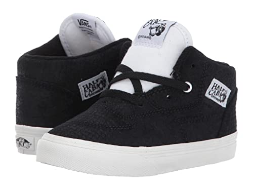 d21bddd347 Vans Half Cab Snake Black White Toddler Shoes (9.5 M US Toddler)