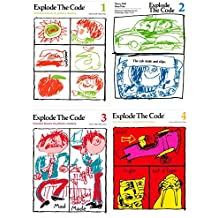 Explode the Code 4 Books SET: Book 1, 2, 3 and 4 (Essential Lessons for Phonics Mastery)