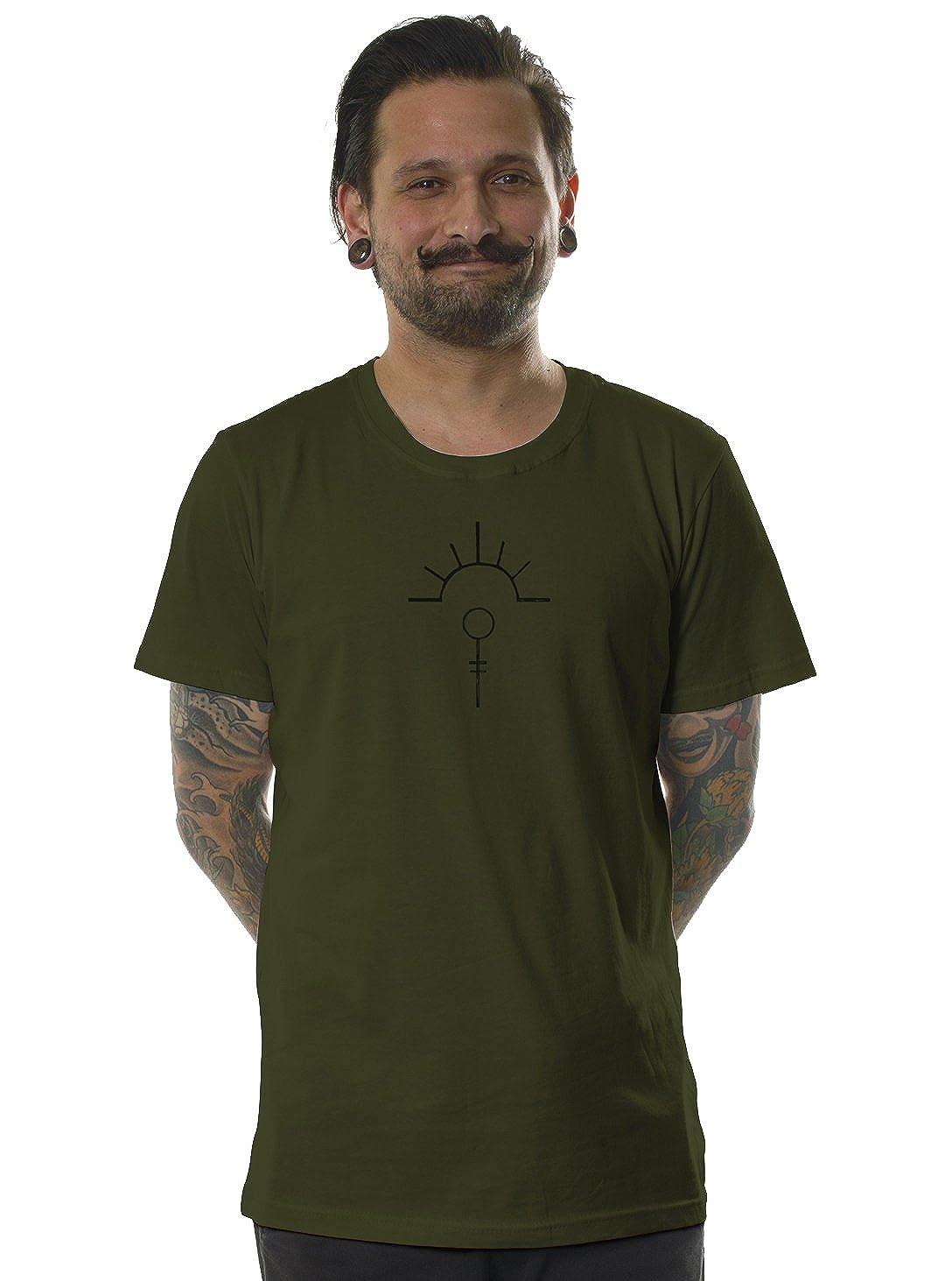 Qualità Fit In T Regular Psychedelic Street Habit Shirt Mushroom CodBxreW