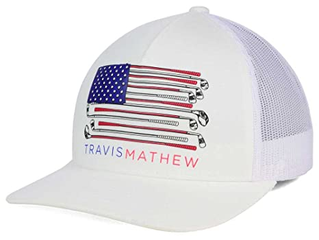 release date new travis mathew old glory american flag white adjustable  snapback golf hat cap 1ff4d 9f3b5ab77a78