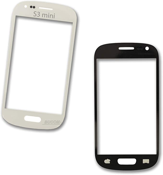 Cristal para pantalla Samsung Galaxy S3 Mini SIII GT-i8190 I8200 LCD intoolbar cristal frontal panel cristal blanco: Amazon.es: Electrónica