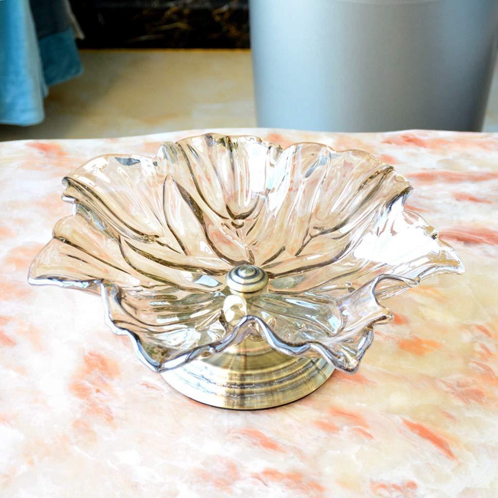 CQ リビングルームクリエイティブ家庭フルーツボウル北欧近代テーブル装飾スナックキャンディプレートデコレーション   B07LGT2N5M