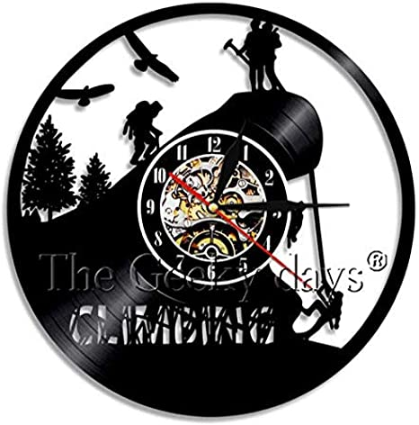 clockfc Reloj de Pared con Registro de Vinilo de Arte de ...