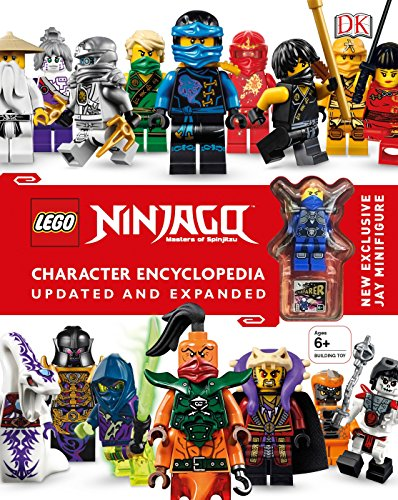 LEGO NINJAGO Character Encyclopedia, Updated Edition: New Exclusive Jay Minifigure (Ninjago Costume Childs)