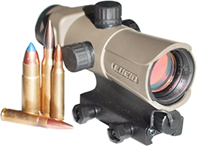 LUCID HD7 Generation 3 Red Dot Sight, Flat Dark Earth