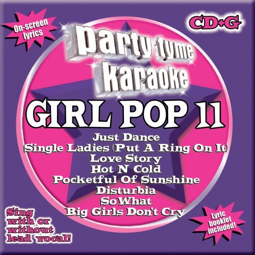 UPC 610017165939, Party Tyme Karaoke - Girl Pop 11 (8+8-song CD+G)