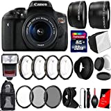 Canon EOS Rebel T6i 24.2MP Digtal SLR Camera with 18-55mm IS STM Lens , TTL Speedlite Flash and Ultimate Accessory Kit