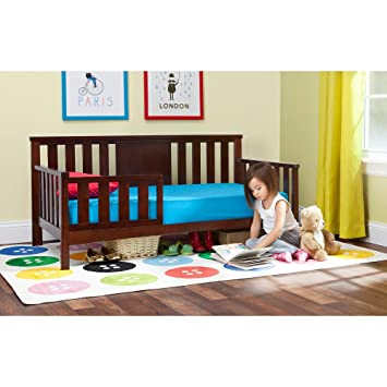 Amazon.com: Babies R Us Next Steps Toddler Bed - Espresso: Kitchen ...