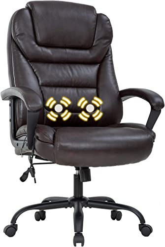 Big and Tall 500lbs Wide Seat Ergonomic Desk Chair