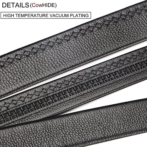 Men's belt, Iztor Genuine Leather belt with Buckle and Enclosed in Gift Box by iztor (Image #4)