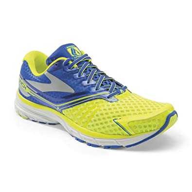 cd31ea0a914a6 Brooks Men s Launch 2 Sneakers Yellow Size  11.5  Amazon.co.uk ...