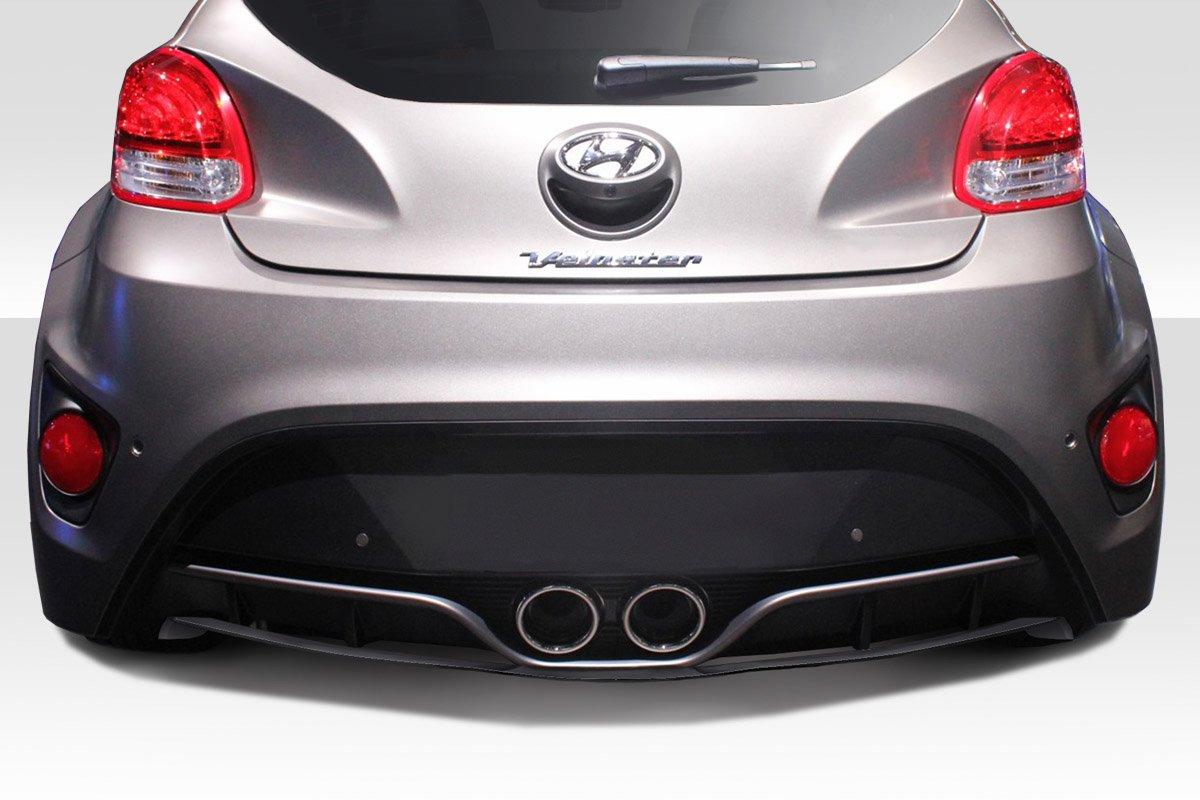 2012 - 2015 Hyundai Veloster Turbo DuraFlex N diseño cuerpo Kit - 4 piezas: Amazon.es: Coche y moto