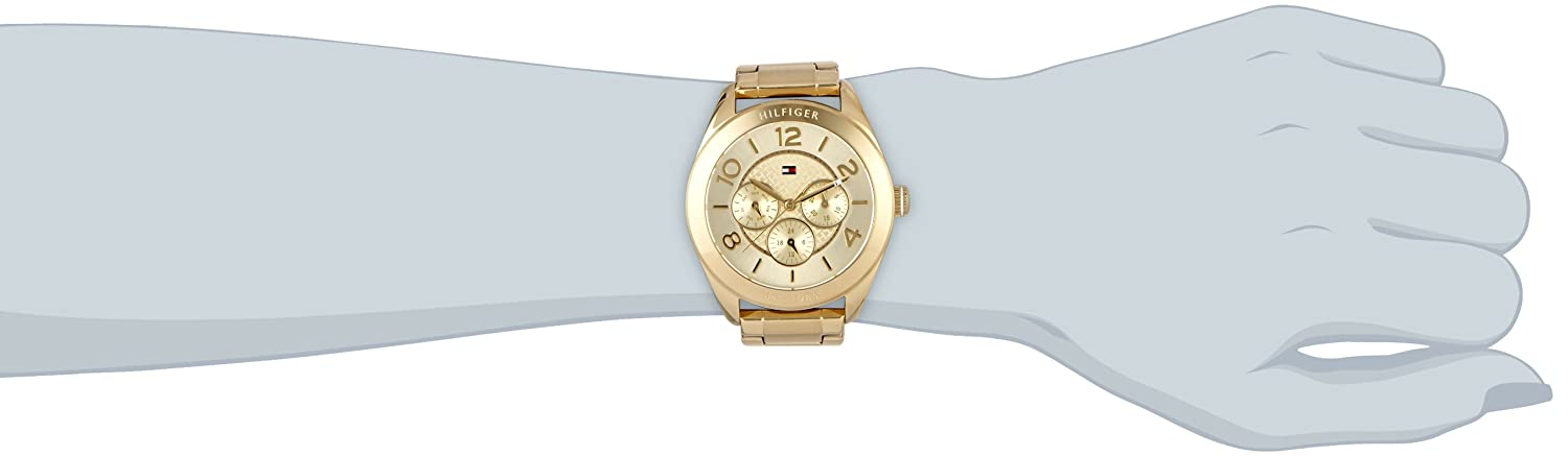 Amazon.com: Tommy Hilfiger Gracie 1781214 Wristwatch for women Very elegant: Tommy Hilfiger: Watches