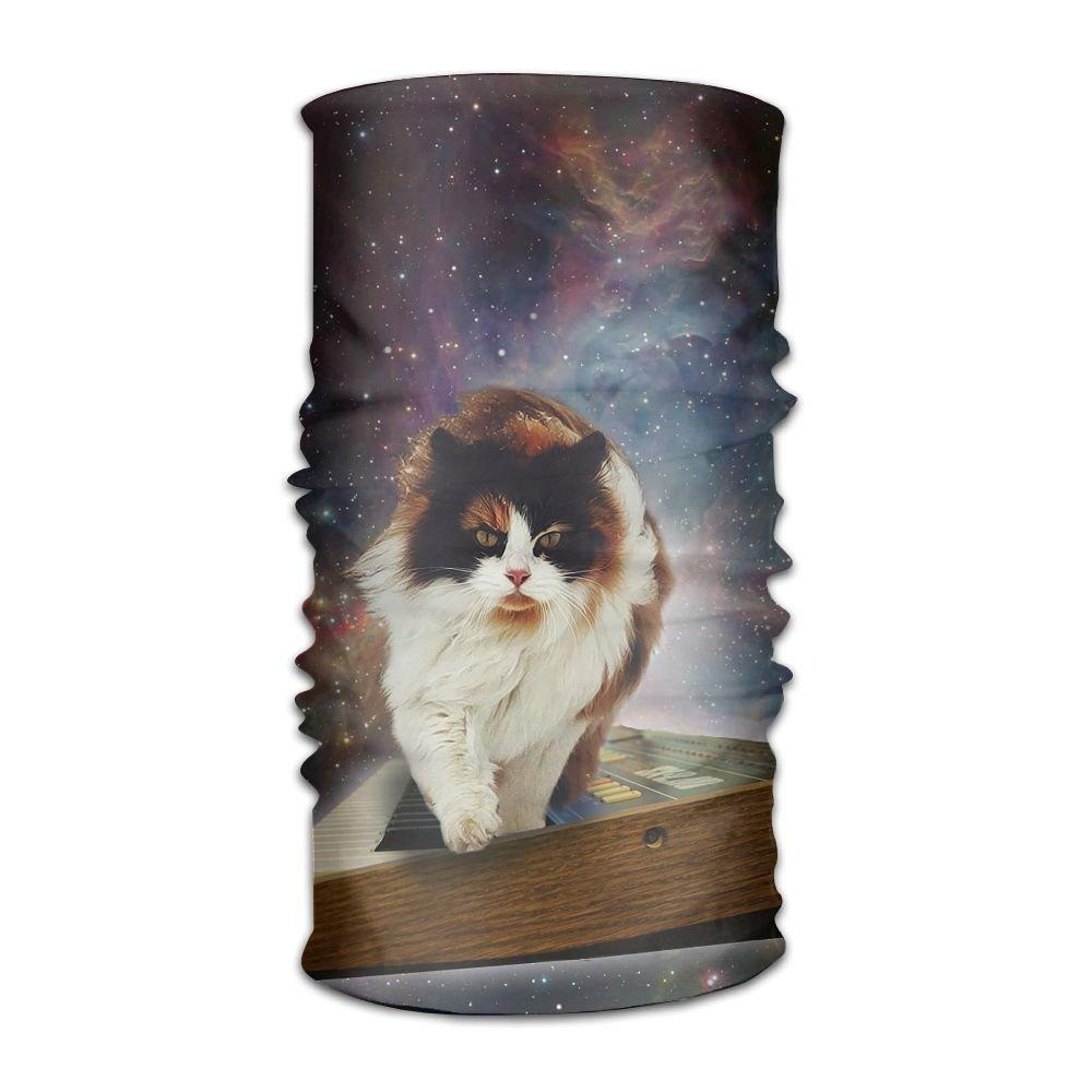 Magic Headwear Cat In Space Outdoor Scarf Headbands Bandana Mask Neck Gaiter Head Wrap Mask Sweatband