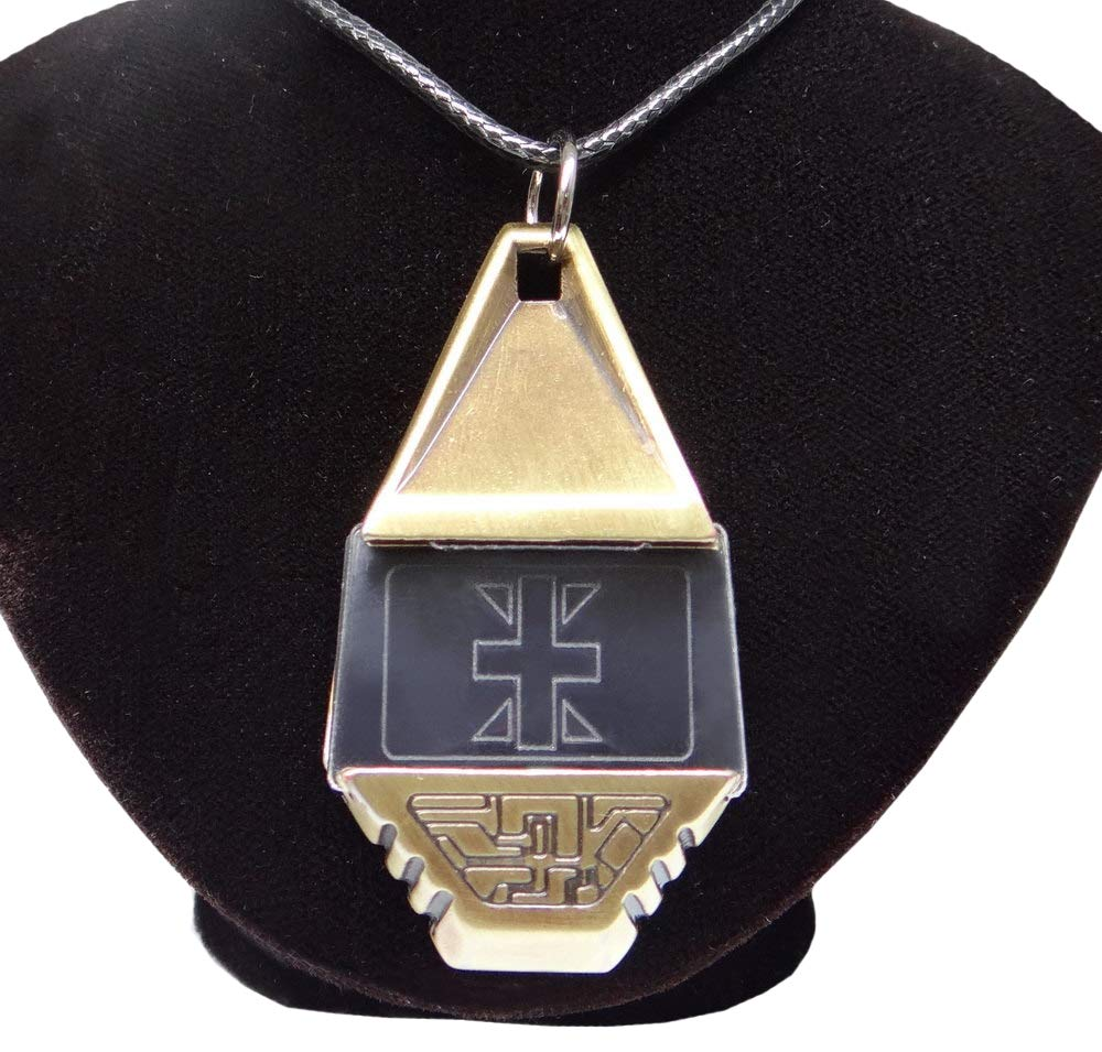 Decalism Metal Digimon Tag with Crest of Reliability