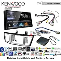 Volunteer Audio Kenwood DDX9704S Double Din Radio Install Kit with Apple Carplay Android Auto Fits 2013-2017 Honda Accord
