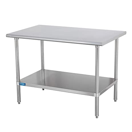 Amazoncom Sapphire Manufacturing Commercial Worktable Wide X - 18 wide stainless steel work table