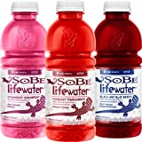 Sobe Lifewater Variety Pack, 20 oz., 12 Count