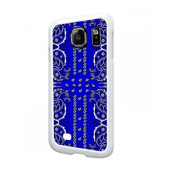 Amazon Blue Bandana Paisley Print Tm Samsung Galaxy S7 Edge