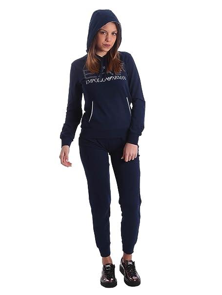 673ab576907 Emporio Armani - Chándal - para Mujer Azul Size: XXL: Amazon.es: Zapatos y  complementos