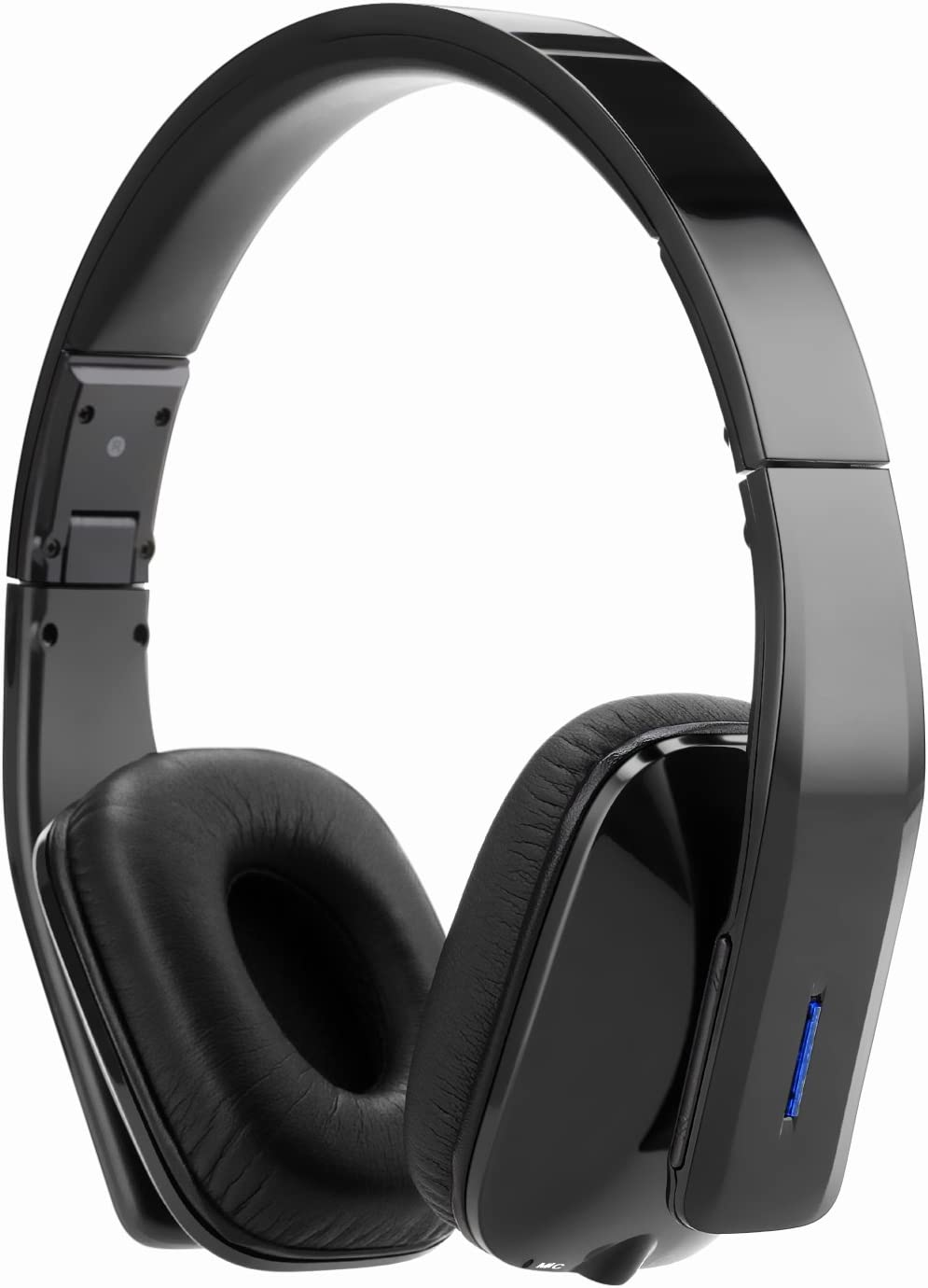 Whitelabel Bassone Bluetooth 4.0 Over Ear Headphones, Wireless Stereo Headsets Earphones, Built in Mic Hands-Free Calling, 3.5mm Audio Input, Wireless or Wired