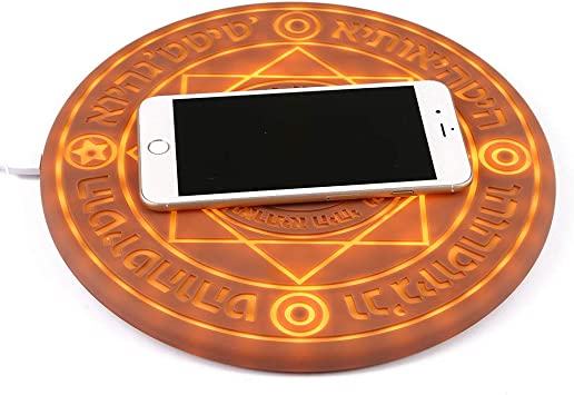 KOBWA Magic Array Wireless Charger, Qi Certified Ultra Slim