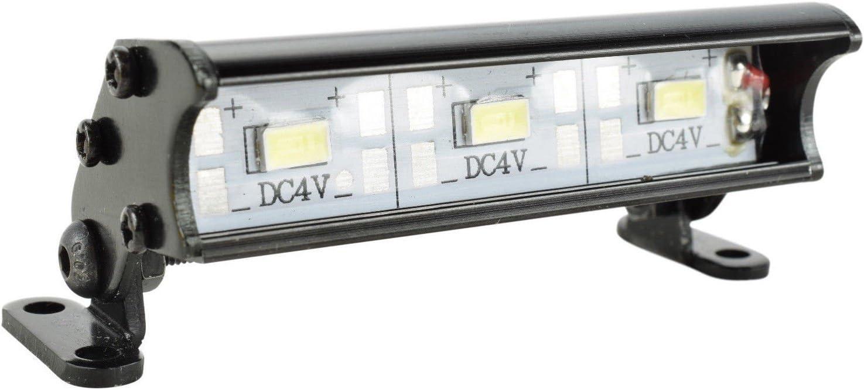 55mm RC LED Light Bar LEDs Lamp 1:10 RC Car Part for 90046 90048 SCXYRDEHHH