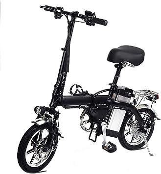 Lamtwheel Bicicleta Eléctrica De La Ciudad Plegable De La ...