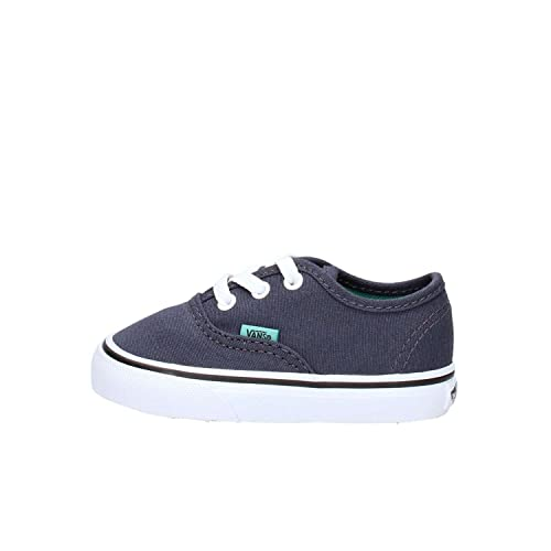 Vans - Authentic, Mocasines para Bebés Que ya se Tienen de pie Bebé-Niños, Azul (Pop/Parisian Night/Sea Blue), 26 EU: Amazon.es: Zapatos y complementos