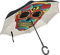 parapluie tête de mort 12