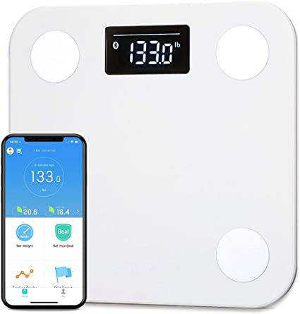 Amazon.com: Yunmai Smart Bluetooth Scale, Báscula de pesaje ...