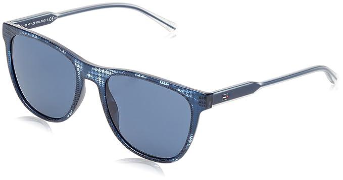 Tommy Hilfiger DB5, Gafas de Sol Unisex-Adulto, Azul ...