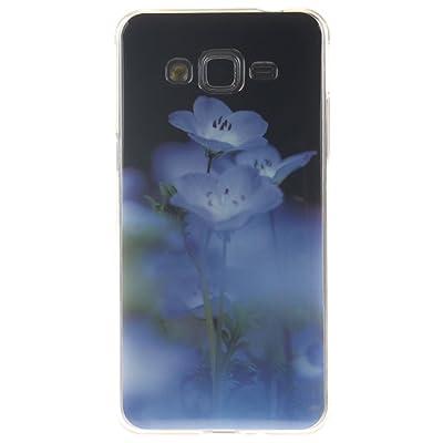 Hozor Samsung Galaxy Grand Prime SM-G530 G531 Case, Motif peint TPU Soft Silicone Couverture arrière Slim Fit Antichoc Résistant aux rayures Téléphone Case de protection