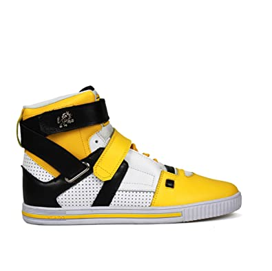 Vlado Footwear IG-2100-1112-7 Mens Phalanx Shoes - Yellow44; Black
