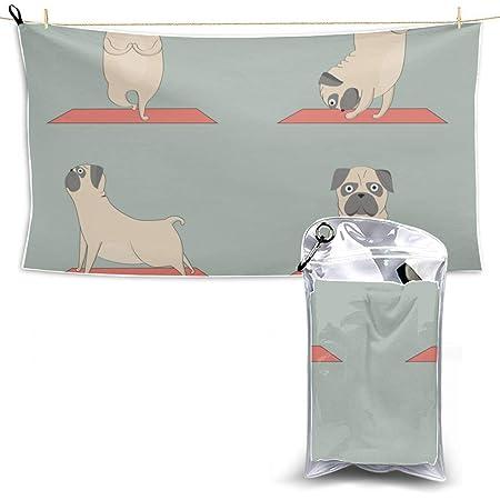 Perro divertido Beagle haciendo yoga Viaje Toalla de ...