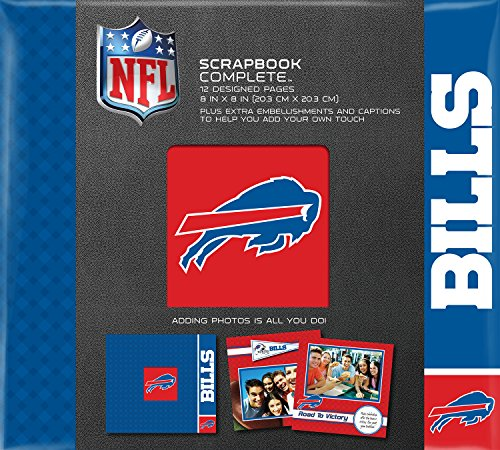 C.R. Gibson Scrapbook Complete Kit, Small, Buffalo Bills - Game Buffalo Bills Today
