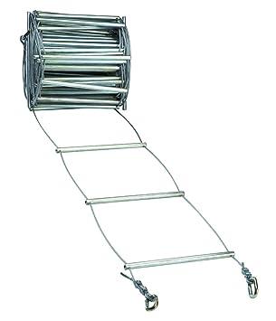 FADERS Escalera Metalica Estrecha 5 M. Escalera 12,5 Cm