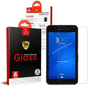 Sony Xperia E4 Remson Tempered Glass Screen Protector 5 PACK - Clear
