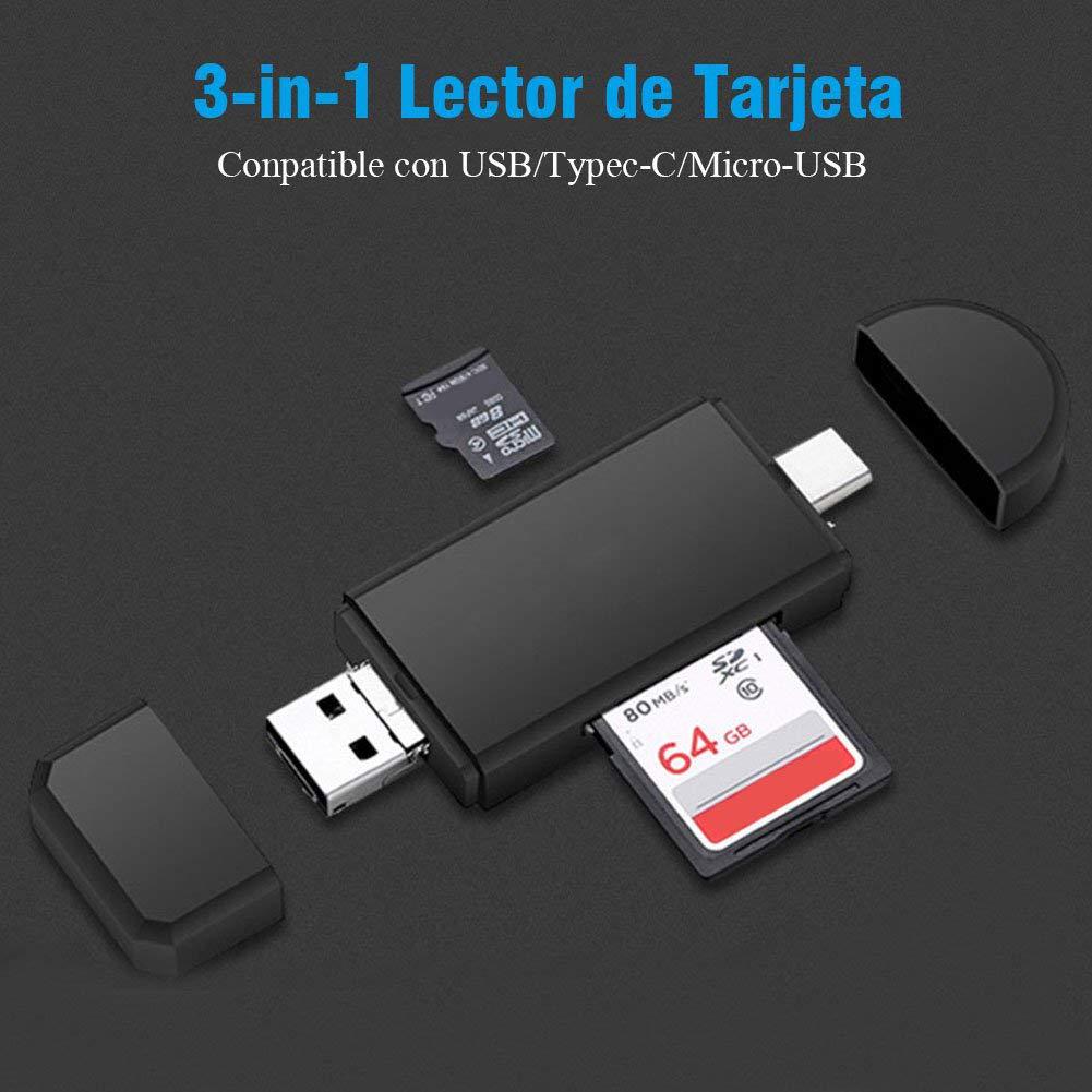 Amazon.com: zzpopGG Data Memory Card,Card Reader,3-in-1 ...