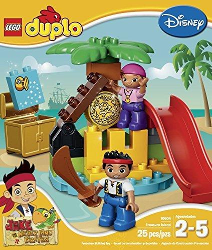 with LEGO DUPLO Pirates design