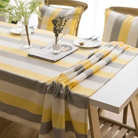 Zswfgg Nappe Coton Et Lin Couleur Unie Petite Table Basse Ikea Fraiche Rectangulaire Anti Brulure Simple 135 200cm Amazon Fr Cuisine Maison