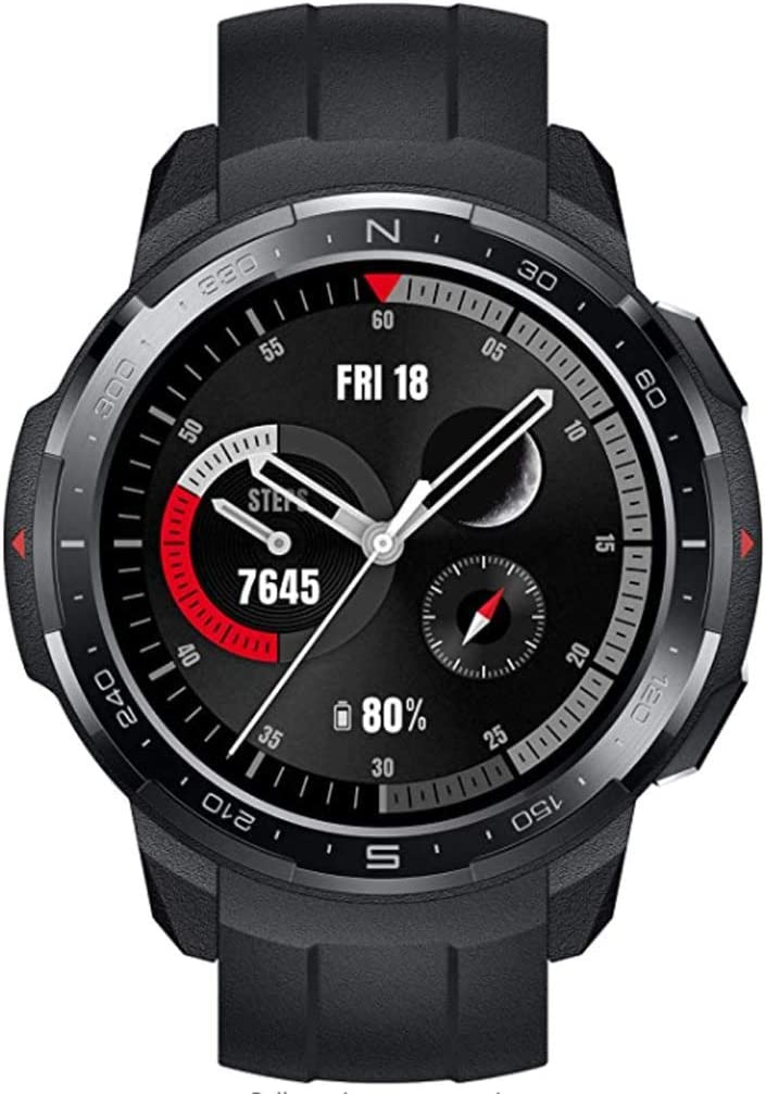 Honor Watch GS Pro Smartwatch (1.39 inch AMOLED Display,Heart Rate Monitor,SpO2 Measurement,25-Day Battery Life,Music Control & Bluetooth Calling,Waterproof, GPS,Compatible with Android & iOS) Black