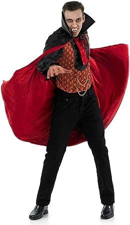 Fancy Me para Hombre Rojo Negro Vampiro Conde Drácula Disfraz ...