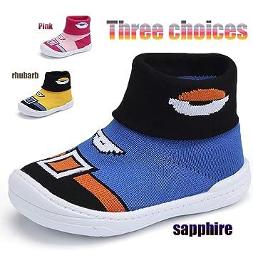 cfa6a22bc9 Zapatos De Bebé De Fondo Suave/Botas De Punto De Terciopelo De Los Niños/ Zapatos De Niño/Colores Múltiples/2-5 Años De Edad Tamaño 20-29: Amazon.es:  ...