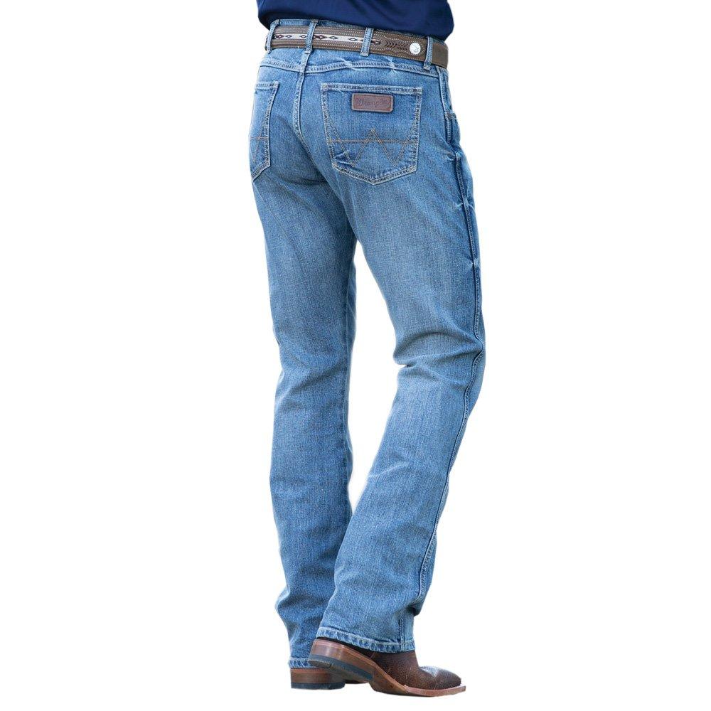 Wrangler Men's Retro Slim Fit Boot Cut Jean, Greeley, 34X36
