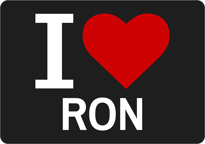 I Love Ron negro Classic Nuss: Amazon.es: Deportes y aire libre