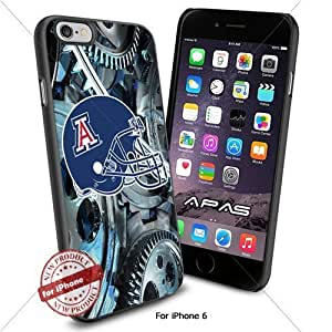 Arizona Wildcats NCAA ,Cool Iphone 6 Smartphone Case Cover Collector iphone TPU Rubber Case Black color [ Original by WorldPhoneCase Oly ]