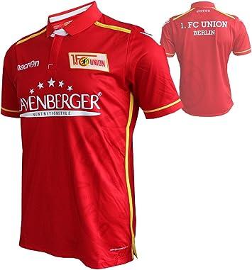 Macron - Camiseta del 1. FC Union Berlín 2016/17-1.FCU, color rojo ...