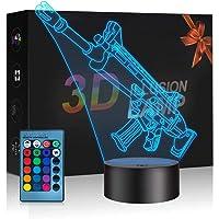 3D Nachtlampje, Decoratielamp Voor Slaapkamer 7 Kleur Veranderende Feestfestival Vrienden Nachtlampje, Decoratielamp…