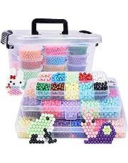Recambio de cuentas de más de 4000 piezas de perlas mágicas para niños para manualidades,